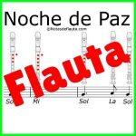 noche de paz flauta dulce partitura