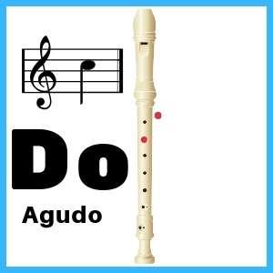 Do agudo en Flauta