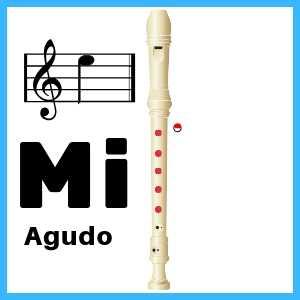 Mi agudo en Flauta