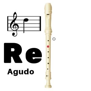 como tocar re agudo en flauta