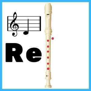 Re en Flauta