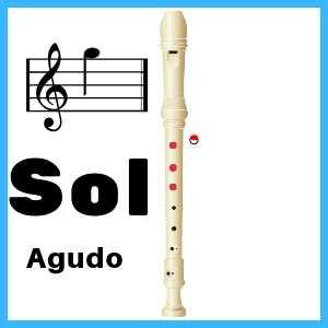 Sol Agudo en Flauta Dulce
