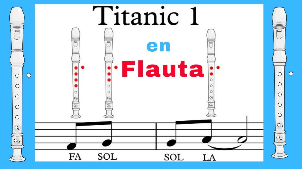 Notas de Flauta del Titanic