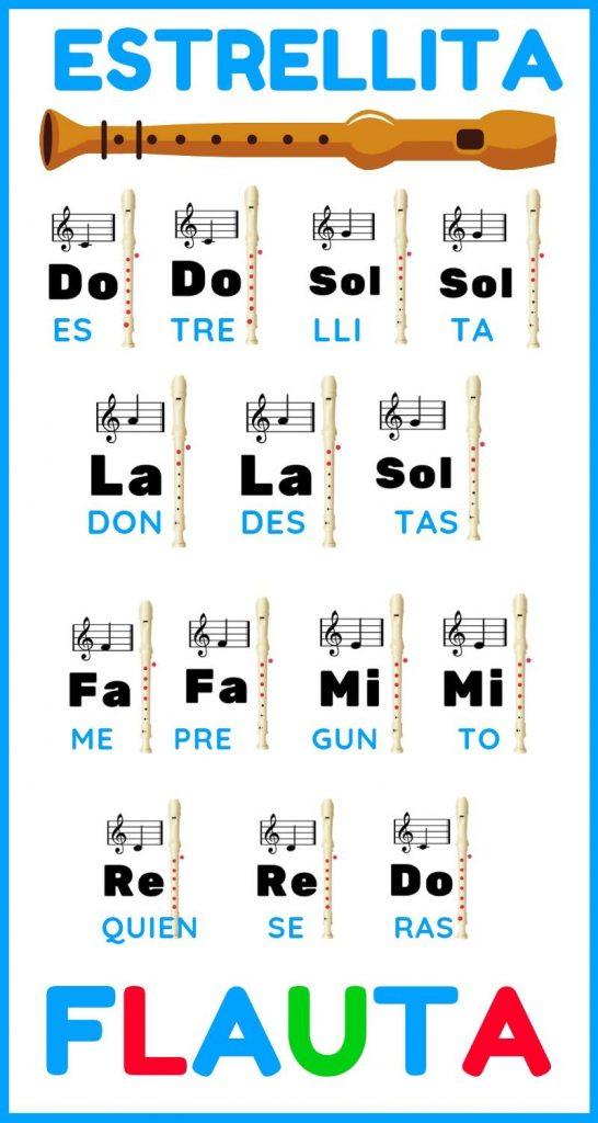 estrellita para flauta