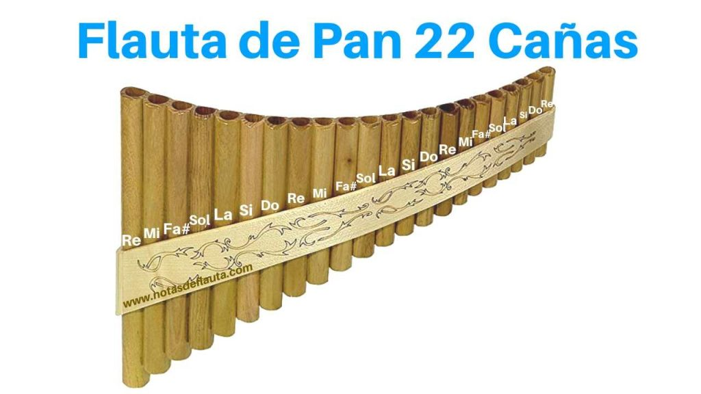 flauta de pan instrumental original