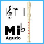 Eb agudo en flauta
