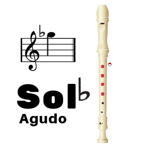 como tocar sol bemol agudo en flauta