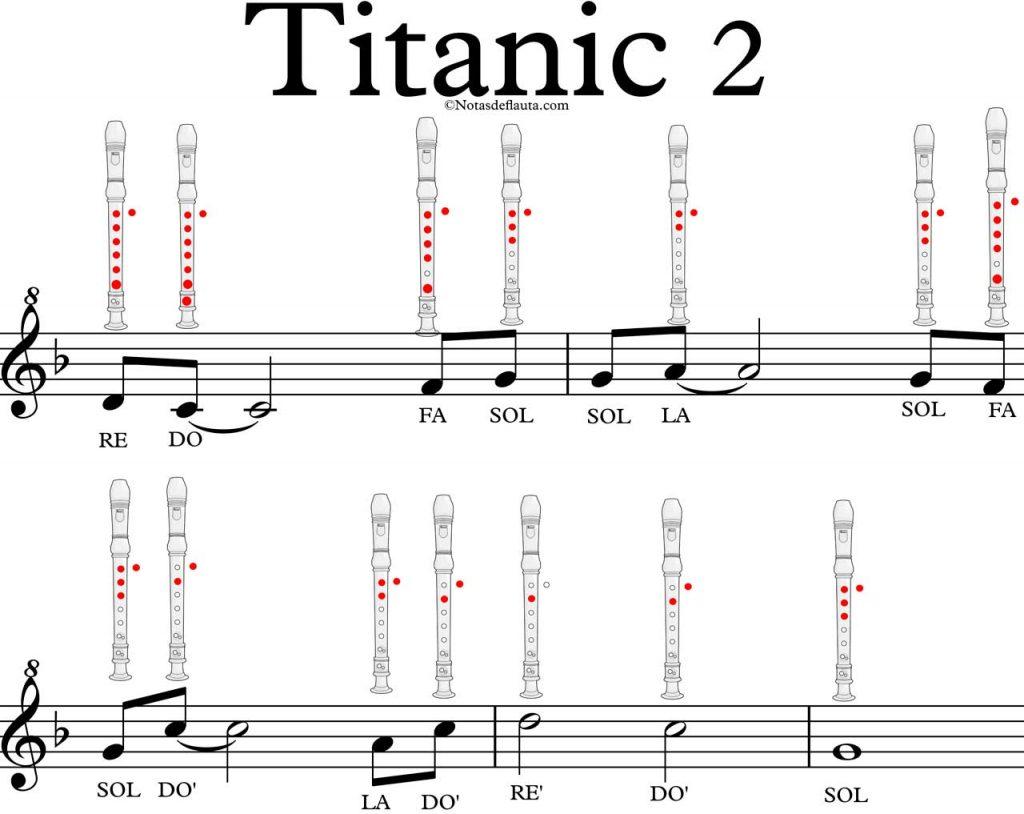 flauta titanic